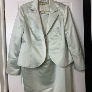 FABULOUS pale mint Allen Schwartz Dinner Suit